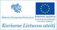 Projektas remiamas ES regioninės plėtros fondo ir LR lėšomis.